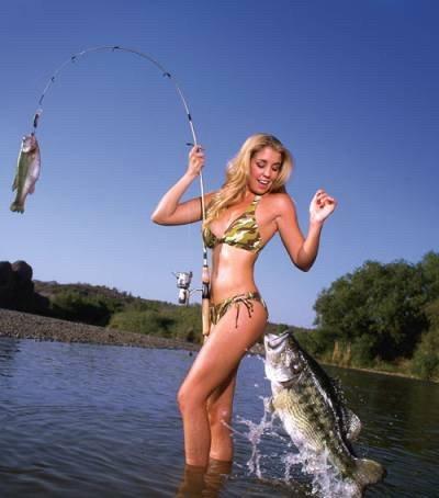 рыбалки отдых с бабами